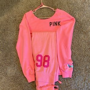 Pink Sets: Tops & Bottoms